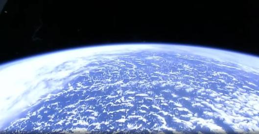 la tierra vista desde la estacion espacial2