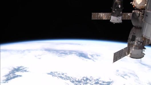 la tierra vista desde la estacion espacial5