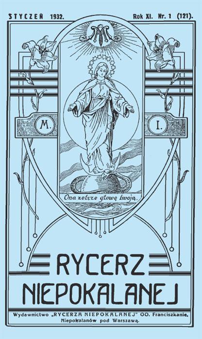 Caballero de la Inmaculada - Rycerz Niepokalanej - 1932 - N1
