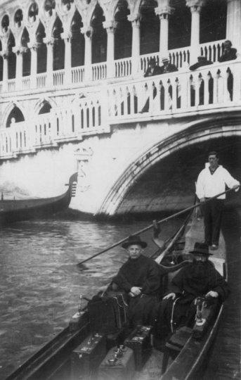 Kolbe - foto135 - en Venecia- 1933
