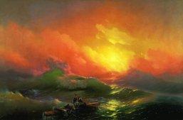 Aivazovsky - La novena ola 1850 - mediano