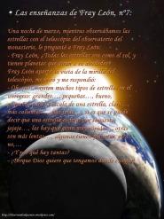 Las enseñanzas de Fray León nº7