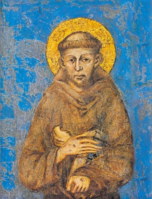 San Francisco  -2 - 1278 Cimabue Basílica de San Francisco Asís